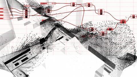 cours d'architecture paramétrique à l'école de Marne La Vallée