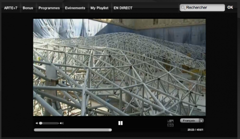 Le projet du Louvre sur ARTE