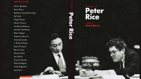 Traces of Peter Rice – THE BOOK