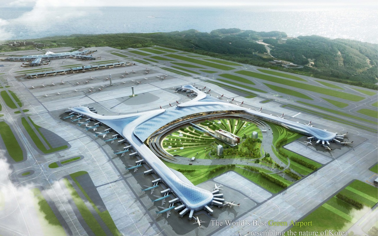 Incheon Airport T2 Competition Image