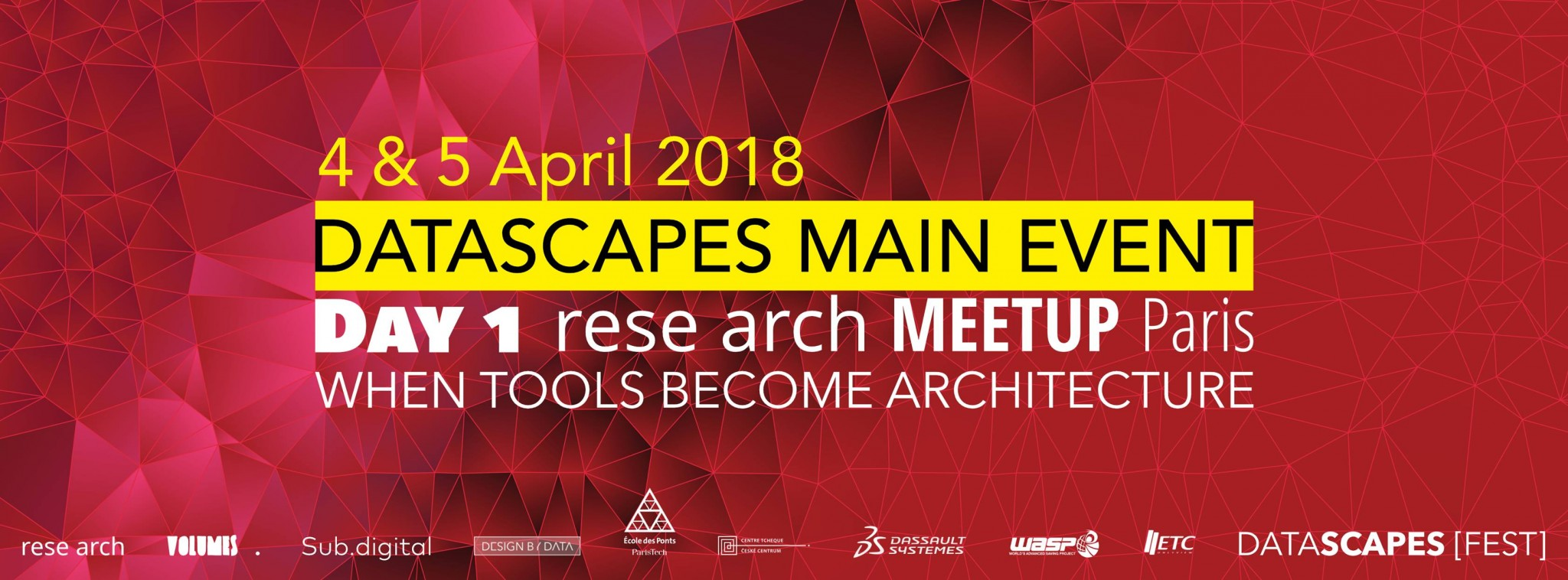 Rese Arch meetup: when tools are becoming an architecture